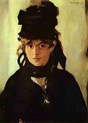 Author photo. Portrait by Édouard Manet, 1872