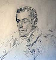 Author photo. A sketch by Augustus John