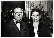Author photo. Richard McLanathan and his wife Jane, ca. 1965 [credit: Bowdoin College Museum of Art Historical Images via Shared Shelf Commons]