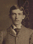 Author photo. Mark Anthony De Wolfe as a Lehigh student. 1885-1886 Editorial Board of The Burr