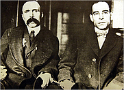 Author photo. Bartolomeo Vanzetti (izquierda) y Nicola Sacco (derecha)
