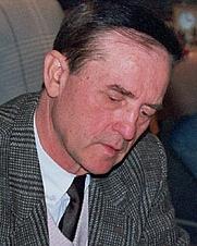 Author photo. Gyoezoe Forintos, Senior Chess World Championship 1996 at Bad Liebenzell