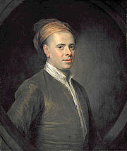 Author photo. Portrait of the poet, Allan Ramsay (1686 - 1758) by William Aikman (1682 - 1731).