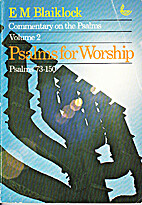 Commentary on the Psalms Vol 2: Psalms for…