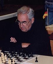 Author photo. Mark Taimanov, 1996