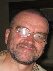 Author photo. Taken at the World SF Convention in Glasgow 2005.