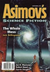 Asimov's Sep 2016 cover