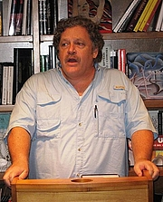 Author photo. Taken in 2007 at Books 3