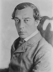 Author photo. Buster Keaton in &quot;The General&quot; <br>George Grantham Bain Collection,<br> LoC Prints and Photographs Division<br>(LC-DIG-ggbain-29929)