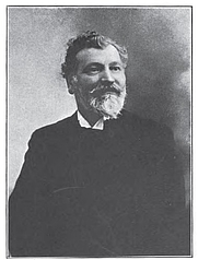 Author photo. Anatole Le Braz (1915)(in Contes bretons, from the works of Anatole Le Braz, Henry Holt, New York, 1915)