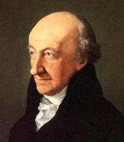 Author photo. Portrait by Ferdinand Carl Christian Jagemann (1805)