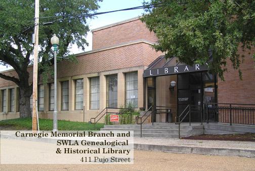 Calcasieu Parish Library (Carnegie Memorial Branch) in Lake