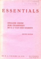 Essentials. English Idiom for Examinees by…