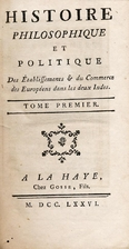 Histoire philosophique et politique des…