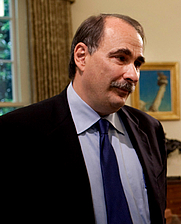 Author photo. Senior advisor David Axelrod during a meeting in the Oval Office, May 29, 2009. (Official White House Photo by Pete Souza)