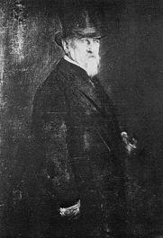 Author photo. Franz von Lenbach. Portrait of Giovanni Morelli. Accademia Carrara, Bergamo.