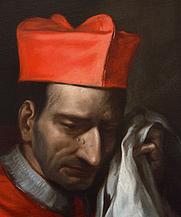 Author photo. San Carlo Borromeo, particolare (Villa San Carlo Borromeo Senago-Milano)
