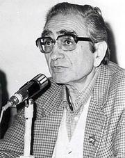 Author photo. Prof. Florestan Fernandes
