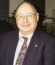 Author photo. Peter Salus at IT-Højskolen in Copenhagen, Denmark year 2002.