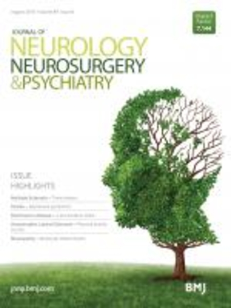 Journal of Neurology, Neurosurgery and Psychiatry