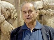 Author photo. Jean Bottero en 1996 lors d'un documentaire TV sur la Mésopotamie