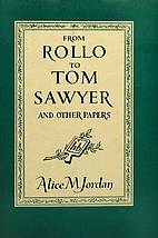From Rollo to Tom Sawyer and Other Papers by…