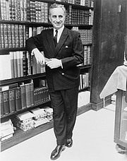 Author photo. James Kavallines.  Library of Congress Prints and Photographs Division. New York World-Telegram and the Sun Newspaper Photograph Collection. http://hdl.loc.gov/loc.pnp/cph.3c16773
