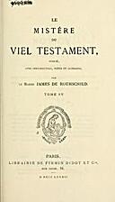 Le mistére du vieil testament (publié avec…