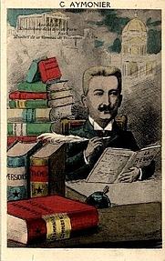 Author photo. karikaturo de Jean-Robert pri Camille Aymonier
