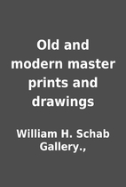 Old and modern master prints and drawings by…