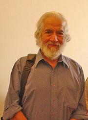 Author photo. Gabriel Salazar. Chilean historian.