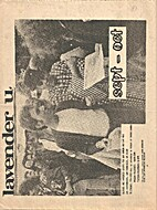 Lavender U. (September-October 1975)…