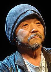 Author photo. Mamoru Oshii at Lucca Comics & Games 2015 / Photo by Niccolò Caranti