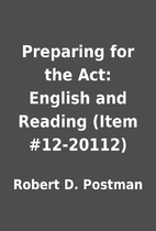 Preparing for the Act: English and Reading…