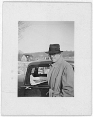 Author photo. John Lomax collection, Library of Congress