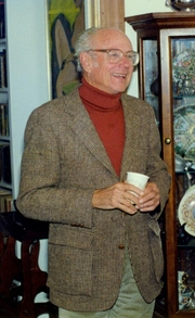 Author photo. Colin Wilcox (1991)<br>Photo: Hayford Peirce