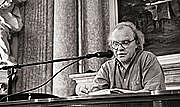 Author photo. Michael Köhlmeier in Olmütz, (C) Schmieren at de.wikipedia