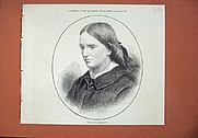 Author photo. Page From The Illustrated London News Dated 1873