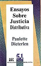 ENSAYOS SOBRE JUSTICIA DISTRIBUTIVA by…