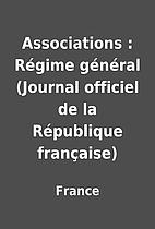 Associations : Régime général (Journal…