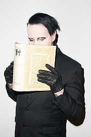 Author photo. Marilyn Manson as photographed by Terry Richardson