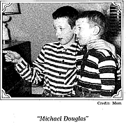 "Author photo. Michael & Douglas Crichton (""Michael Douglas"")"