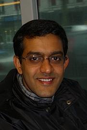 Author photo. Vikram Sampath.