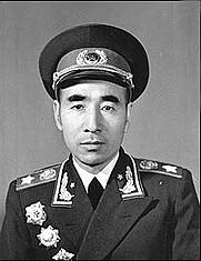 Author photo. Lin Biao's official portrait, 1955.