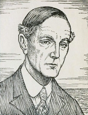 Author photo. Image from <b><i>Prose and poetry from the works of Henry Newbolt</i></b> (1920) by Sir Henry John Newbolt