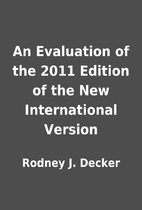 An Evaluation of the 2011 Edition of the New…