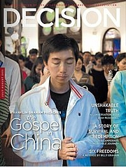 Author photo. Decision Magazine