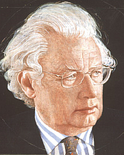 Author photo. Lord Hugh Thomas of Swynnerton