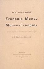 Vocabulaire français-monvu et…