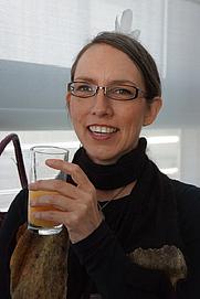 Author photo. Hinemoana Baker. (NZatFrankfurt)